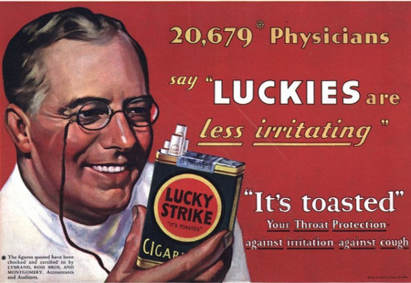 vintage luckies ad
