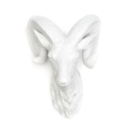 west elm, ram head ($50)