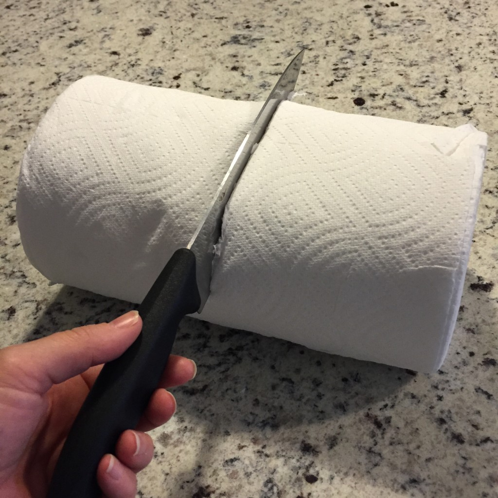 cut paper towels